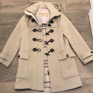 Iconic Burberry Toggle Coat size 8